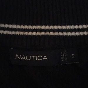 Men's small Nautical sweater navy blue